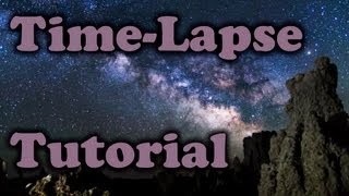 How to Edit Milky Way Time-Lapse - After Effects & Premiere Pro Tutorial