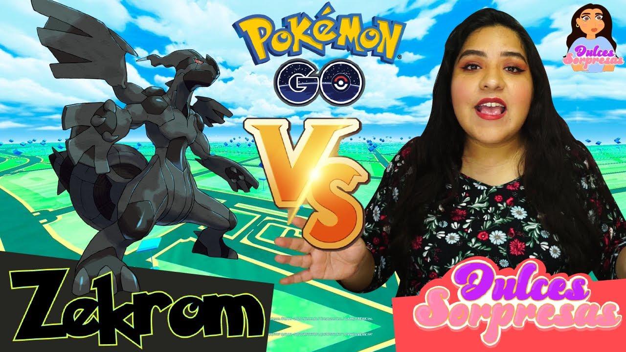 Atrapando A Zekrom en Pokemon Go | Incursion De Zekrom Nuevo Legendario