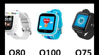 Детские умные часы Smart Baby Watch Q80 Q100 Q75 с AliExpress. Какие лучше выбрать?!(, 2017-05-08T16:26:52.000Z)