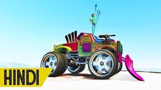Monster Truck VS TANK Race | GTA 5 Online
