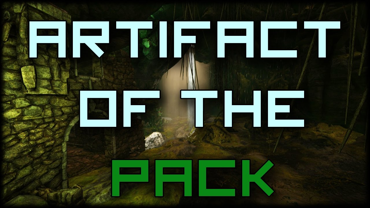Artifact of the Pack Walkthrough! (Upper South Cave - Island Map)