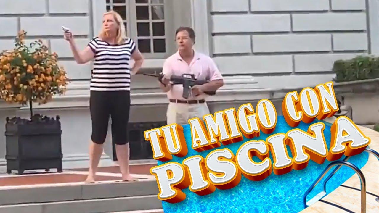 TU AMIGO CON PISCINA || EL Niño del Ukelele