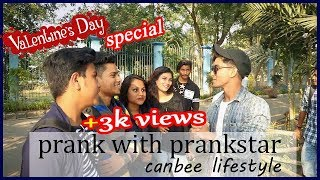 Valentines Day Special prank on prankstar ft.  canbee lifestyle|  2019