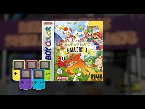 Gameplay : Game & Watch Gallery 3 [Gameboy Color]