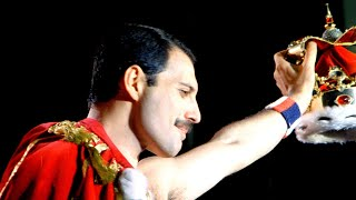 Queen - The Show Must Go On (with lyrics) – Freddie Mercury tribute