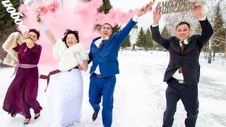 Видеосъемка в Омске - свадьба Ханата и Жанны