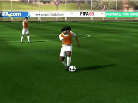 How to do skill on fifa 09 brazilian right mids fifa 18