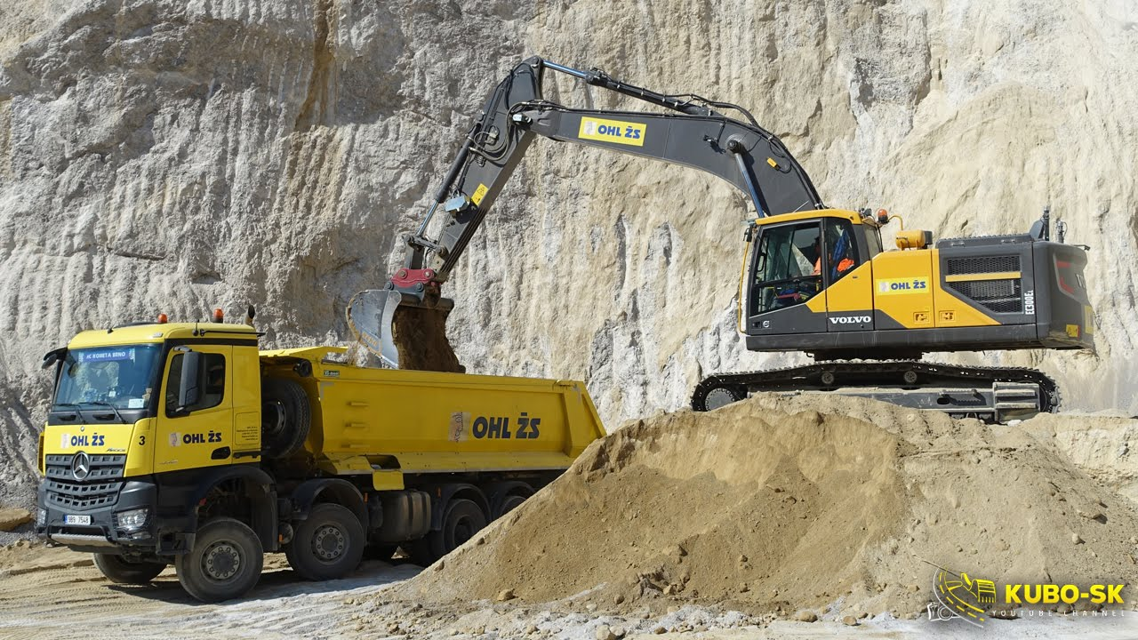 VOLVO EC300E - excavator with 3D GPS and weighing system ...