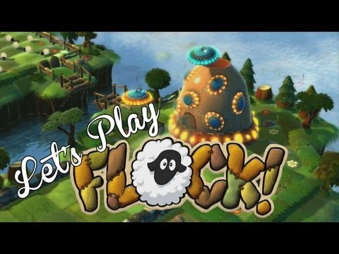 Game Time - Burnie and Ashley Play Flock Part 1