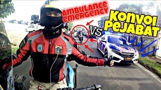 Download lagu AMBULANCE EMERGENCY ATAU KONVOI PEJABAT❓ESCORTING EMERGENCY AMBULANCE