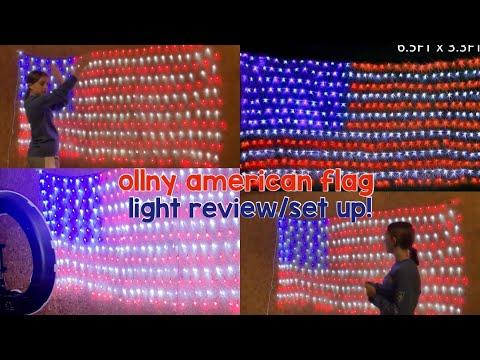 Ollny American Flag Light Review | Chloe Renee