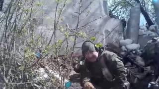 Война на Украине. Видео реального боя в промзоне Авдеевки