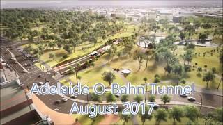 Adelaide O-Bahn Tunnel: August 2017
