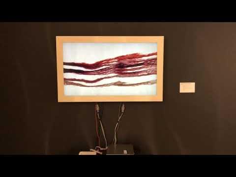 Michal Rovner - Current 3 Red