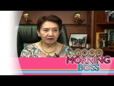 [Good Morning Boss] REEL Talk: with Constancia Q. Lichauco [03|08|16]