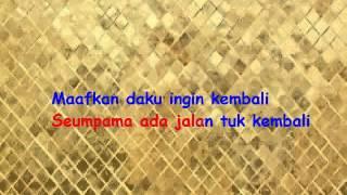 karaoke melly goeslaw feat ari lasso jika tanpa vokal