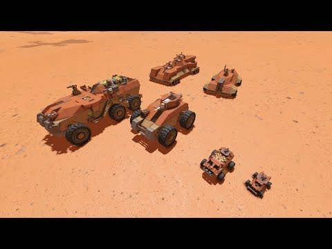 [SPACE ENGINEERS] Ground Vehicle Classification and Use