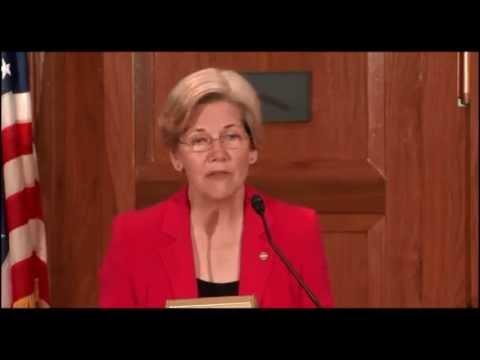 Senator Elizabeth Warren - Speech on the CFPB to CFED and Democracy Journal