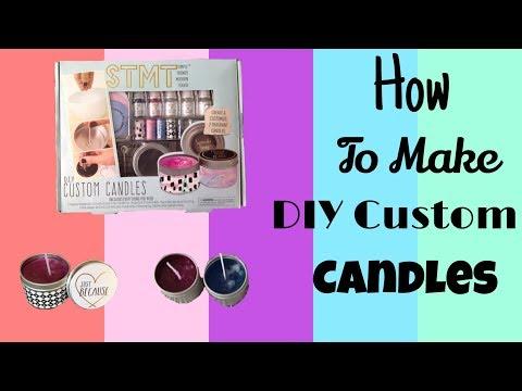 How to make DIY Custom Candles ] 2018 ] STMT Candle Kit ]