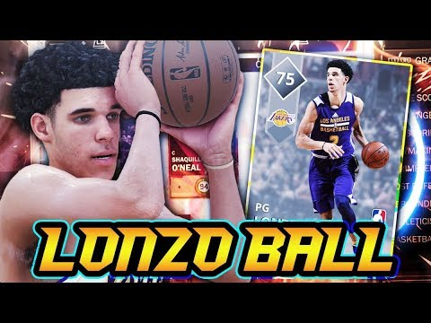NBA 2K18 MyTEAM SILVER LONZO BALL GAMEPLAY!! THE BEST SILVER POINT GUARD IN NBA 2K18 MyTEAM!!