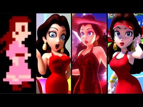 Evolution Of Pauline In Mario Games (1981-2019)