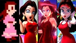 Evolution of Pauline in Mario Games (1981-2019)