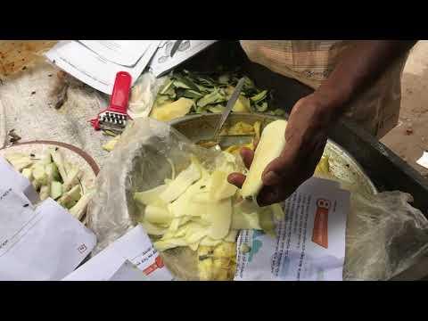 Traditional Kacha Amer Vorta। কাঁচা আমের ভর্তা। Street food of Bd।Nams Vlog