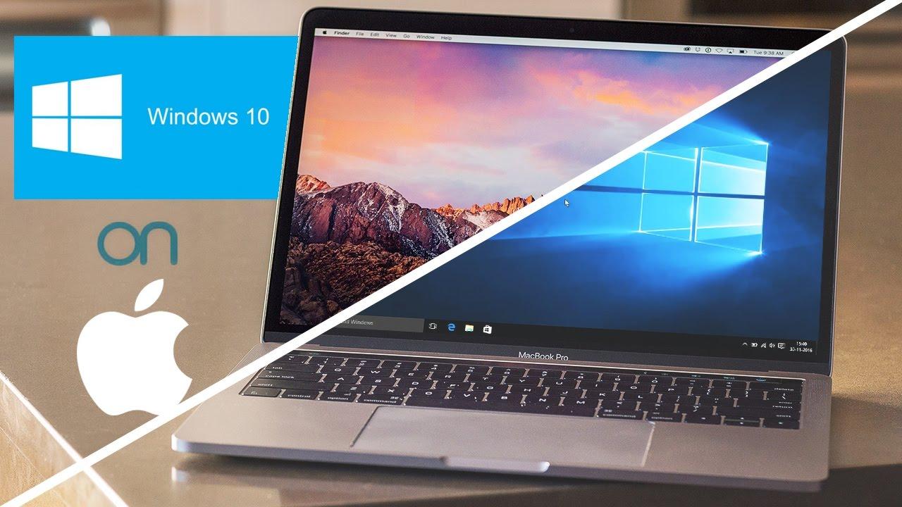 install windows on a macbook pro