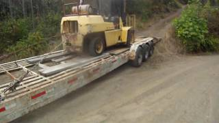 96 Ford F-250 5.0L towing 29,000lbs up mountain.