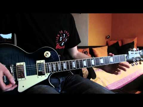 Rise against wait for me guitar cover