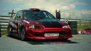 видео: Honda Civic  - Реальная кольцевая тачка !!!