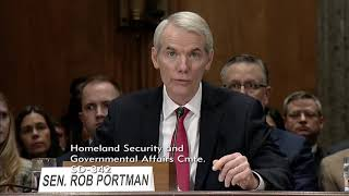 Portman Introduces DHS Secretary Nominee Kirstjen Nielsen at Homeland Security Nomination Hearing