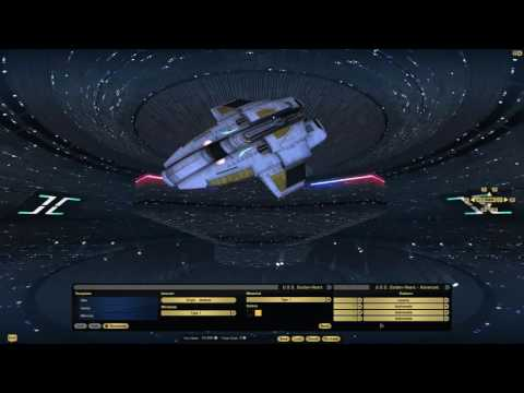 STO Starship Review Pilot Escort complete set