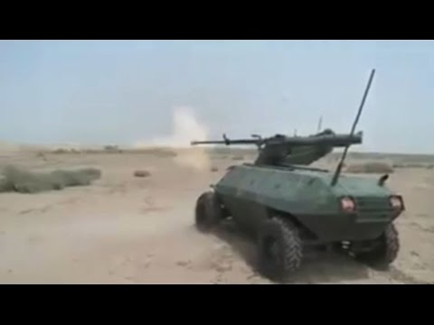 Иракская армия впервые использовала боевого робота «Alrobot» против ИГ в Мосуле
