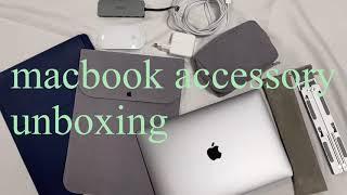 애플나라 그레이세상 | 맥북에어m1 파우치,멀티포트,…