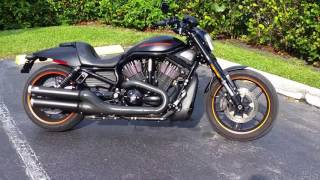 2012 harley davidson vrod night rod with vance and hines exhaust