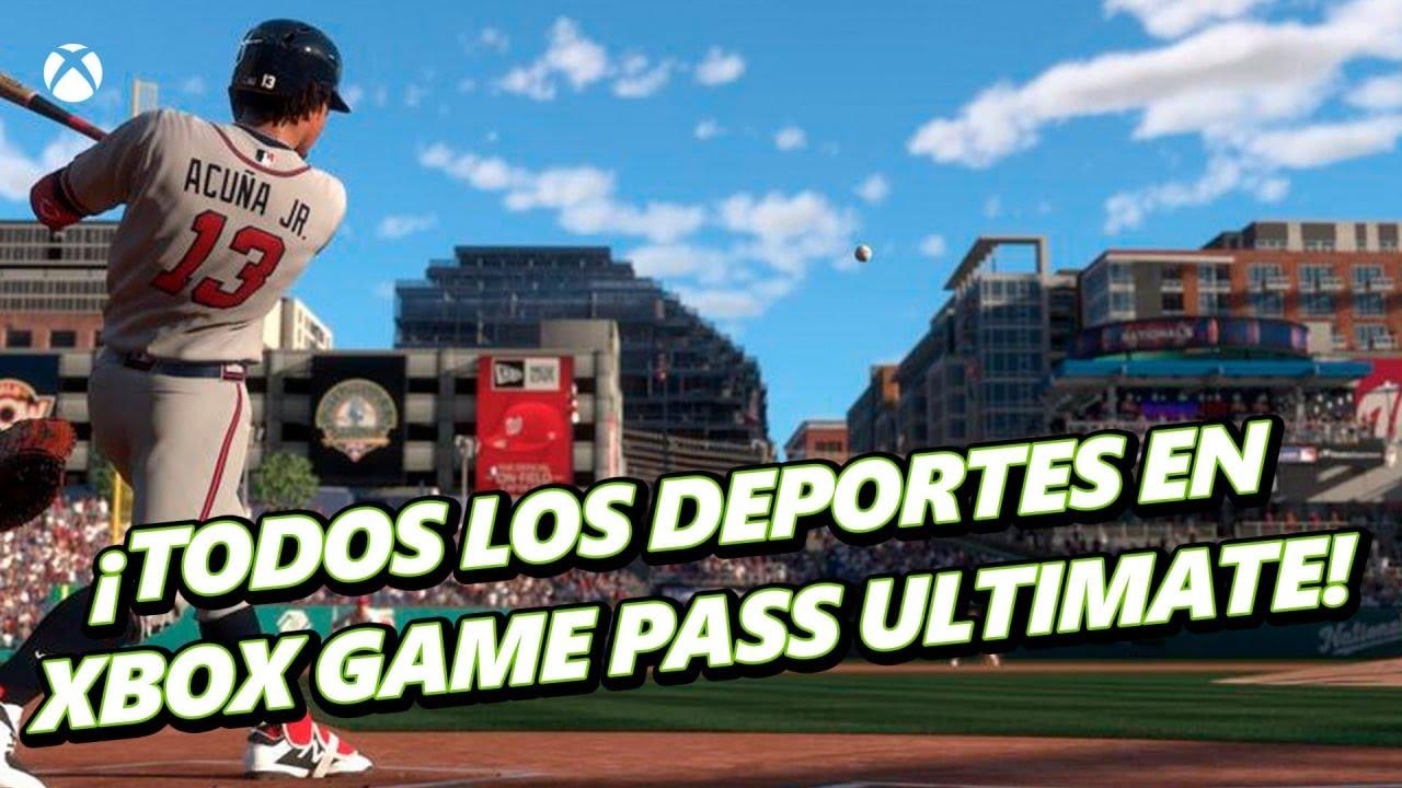 ¿Deportes? Todos los que quieras con Xbox Game Pass Ultimate