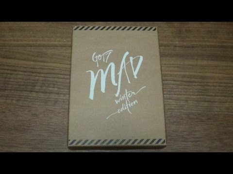 Unboxing GOT7 갓세븐 4th Mini Album Repackage MAD Winter Edition (Merry Version)