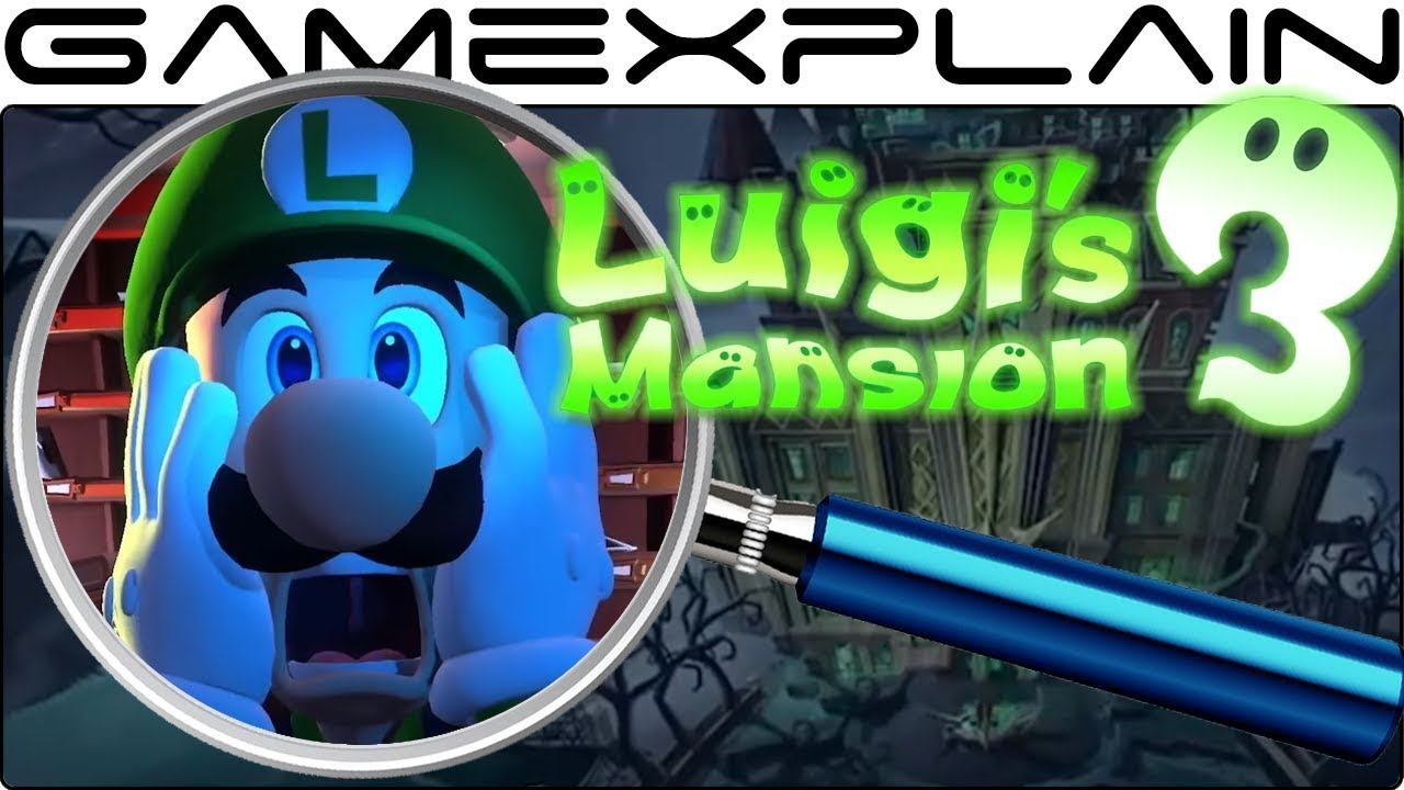 Luigi's Mansion 3 ANALYSIS - Reveal Trailer (Secrets & Easter Eggs)