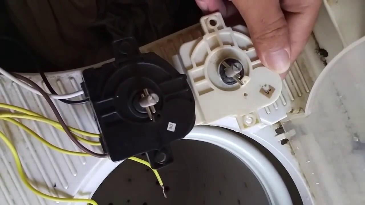 Cara Memperbaiki Timer Mesin Cuci Yg Rusak Youtube
