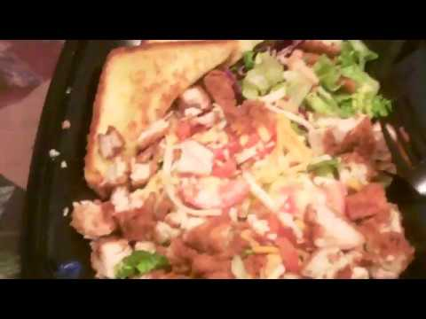 Zaxby S House Fried Chicken Salad My Review Youtube