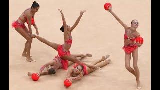 Групповые упражнения художественная гимнастика.Девочки 9 лет. Иркутск.(Художественная гимнастика сегодня — это не просто вид спорта. Это тандем гармонирующих друг -другу искусс..., 2016-01-06T04:30:06.000Z)
