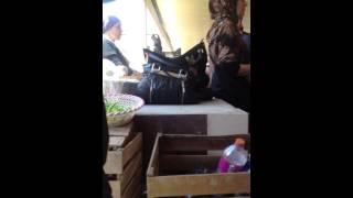 Хасавюрт на базаре разборка за место на рынке