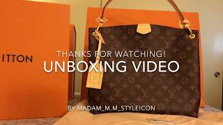NEW YEAR 2018's Unboxing my NEW Louis Vuitton Graceful PM bag