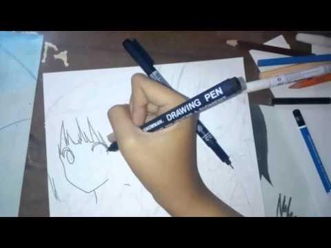 Hyouka (Oreki Houtarou and Chitanda Eru) — Speed Drawing