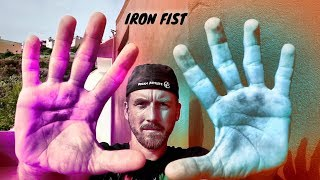 Turn Your FISTS & BONES into IRON Using a WALL | REAL IRON BODY