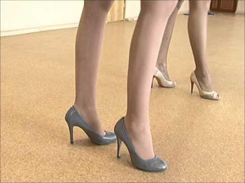 Высокие каблуки тубе