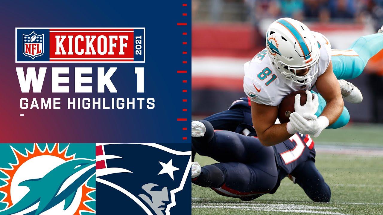 Download Dolphins vs. Patriots Week 1 Highlights   NFL 2021