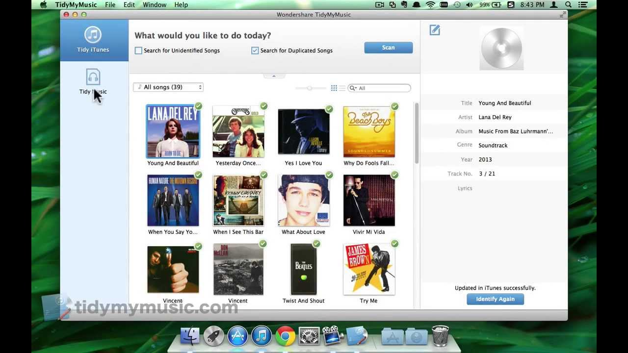 how to add album art to songs on mac