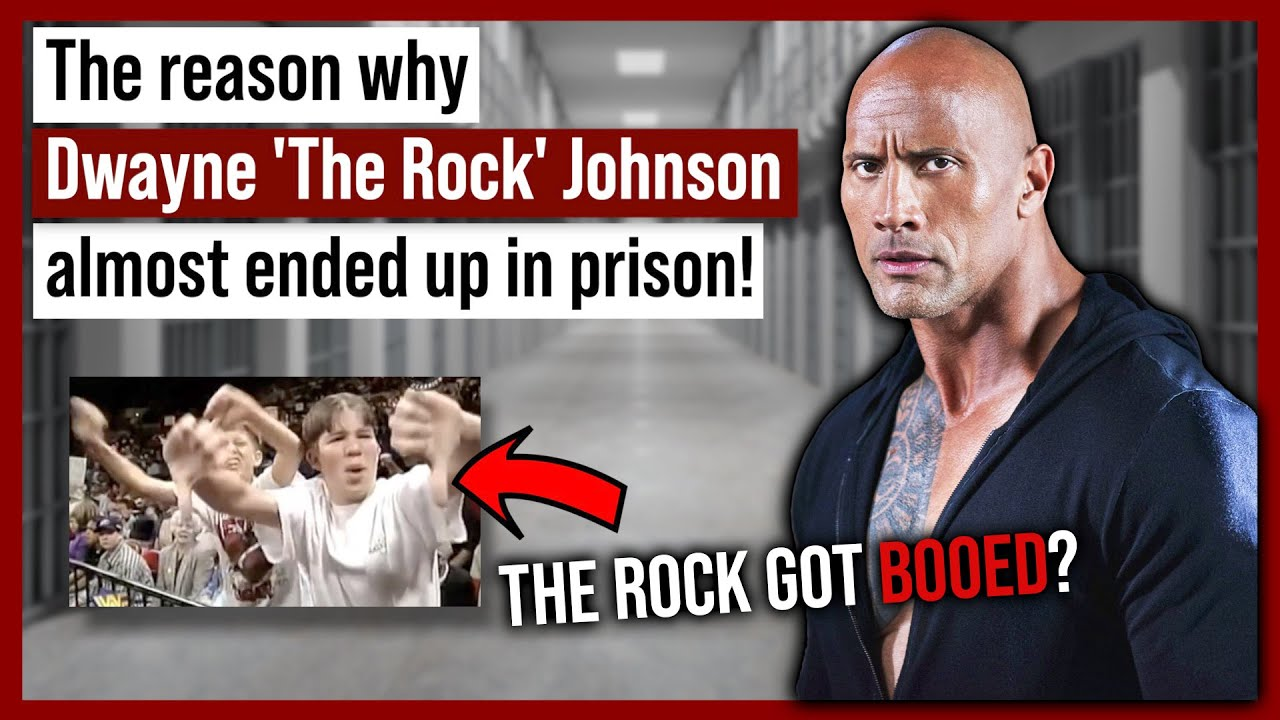 Dwayne 'The Rock' Johnson Almost Ended Up in Prison!